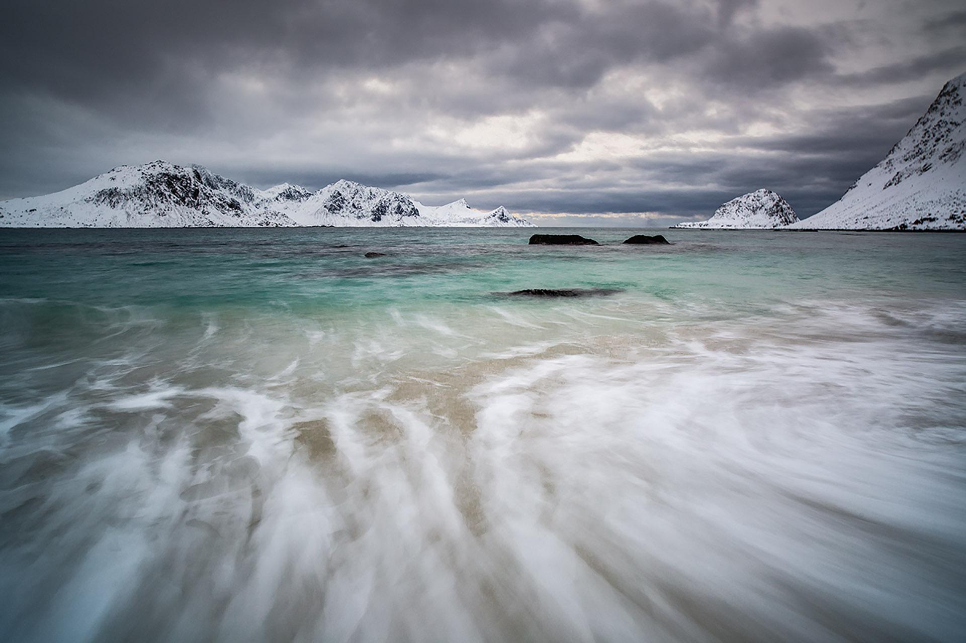 Haukland Lofoten islands Noorwegen Norway
